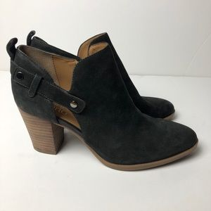 FRANCO SARTO Leather Ankle Boots Booties